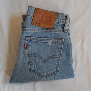 Womens Levis 505C High Rise Retro Size 1 2